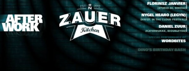 Zauer Kitchen Afterwork!
