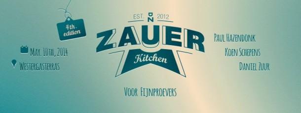 WGT |  ZAUER KITCHEN #4 met PAUL HAZENDONK, KOEN SCHEPENS & DANIEL ZUUR | 10.05.2014