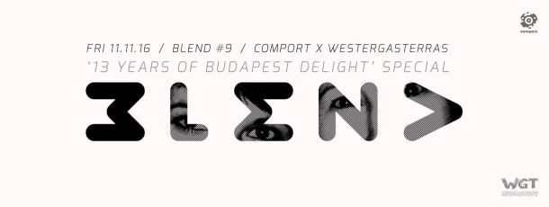 11 NOV | BLEND by Comport Records
