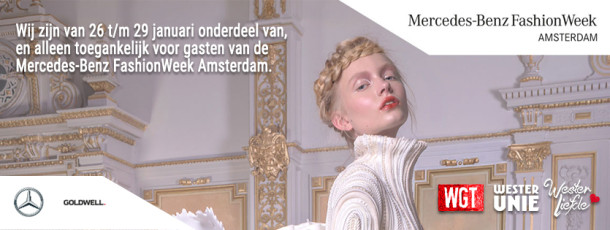 26 t/m 29 JAN | Mercedes-Benz FashionWeek Amsterdam